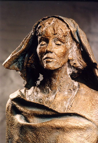 Bust of Hildegard of Bingen